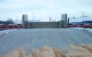 Verbindungsbrücke und Nordrampe, Bremerhaven - Schaumglas bewährt sich im Straßenbau